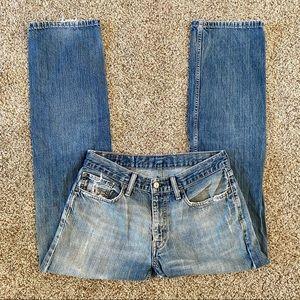 Levi's 514 Straight Leg Jeans 32x32 Medium Wash